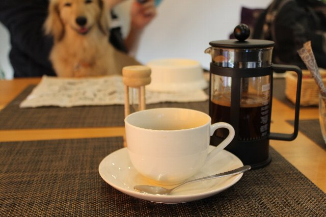 at Terraceのコーヒー写真