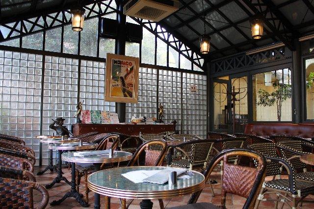 カフェ・ミケランジェロの座席