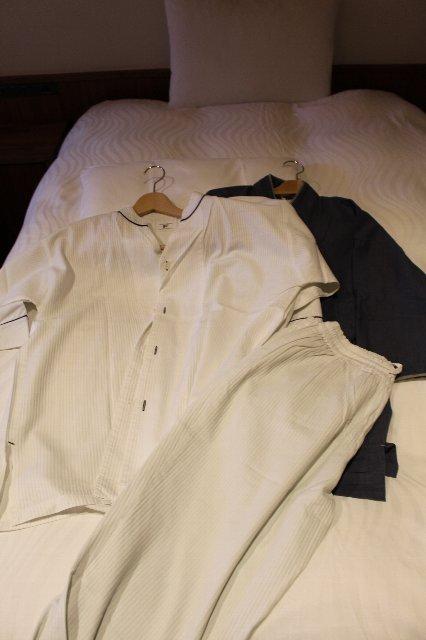 パジャマと作務衣