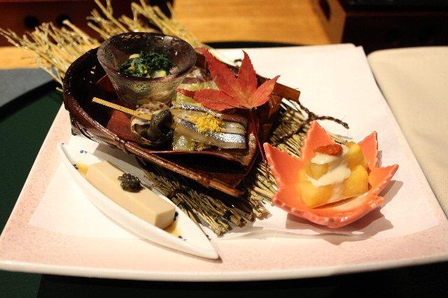 霜月の前菜写真@レジーナ旧軽