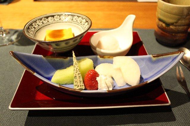 霜月の水菓子とデザート@レジーナ旧軽